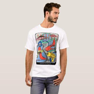 """Camiseta Do """"pintura da invasão do encanto da modificação"""
