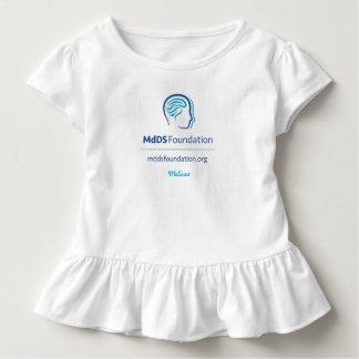 Camiseta do plissado da criança da consciência de