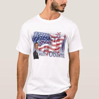 Camiseta do prémio nobel de Obama