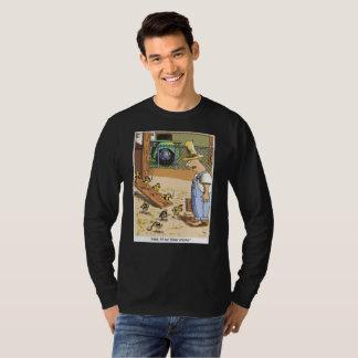 Camiseta Do preto original dos desenhos animados dos