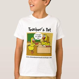 Camiseta Do professor animal do Crackups de Shonda t-shirt