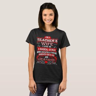 Camiseta Do professor da esposa do mundo do amor Tshirt