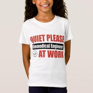 Camiseta Do silêncio engenheiro biomedicável por favor no