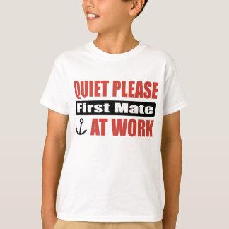 Camiseta Do silêncio primeiro companheiro por favor no