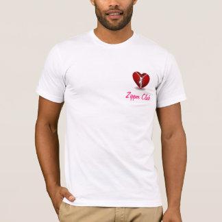 """Camiseta Do """"sobrevivente do clube Zipper"""" por porque."""