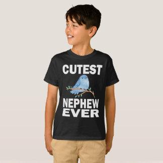 Camiseta Do sobrinho o t-shirt o mais bonito do pássaro do