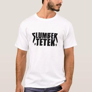 """Camiseta Do """"T branco de Tetek descanso"""""""