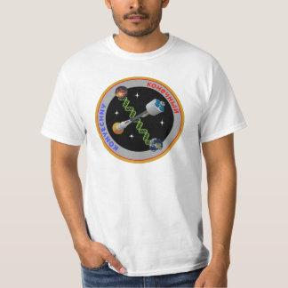 """Camiseta Do """"T do remendo da missão Konyechny"""" dos homens"""