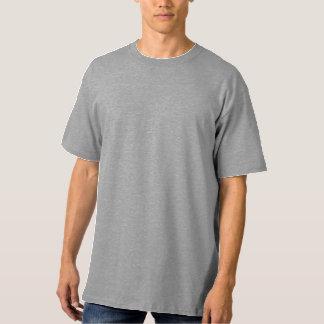 Camiseta Do t-shirt alto do Hanes dos homens LT DE AÇO LRG