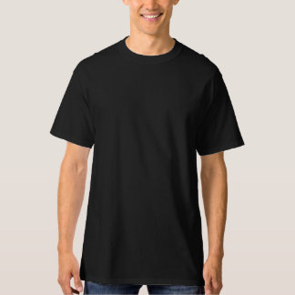 Camiseta Do t-shirt alto do Hanes dos homens PRETO PROFUNDO