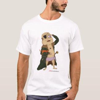 """Camiseta Do """"t-shirt branco capitão Fudge"""""""