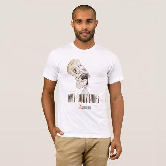 """Camiseta Do """"t-shirt branco especial de Larry Metade-Corpo"""""""