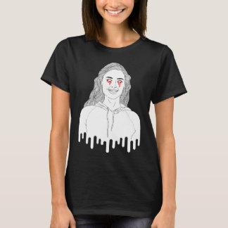 "Camiseta Do ""t-shirt da MENINA ZOMBI"" das mulheres"