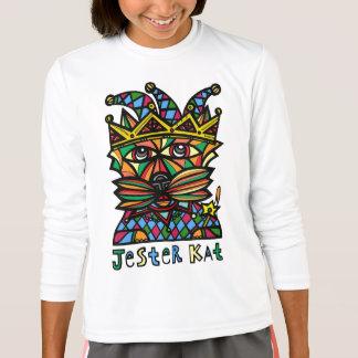 """Camiseta Do """"t-shirt do esporte das meninas do Kat bobo da"""