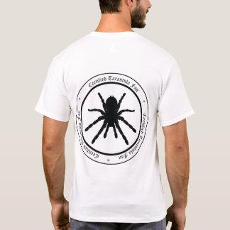 "Camiseta Do ""t-shirt do fã Tarantula"" (logotipo traseiro)"