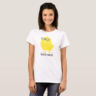 """Camiseta Do """"t-shirt do nerd pássaro"""" com birdy nerdy!"""