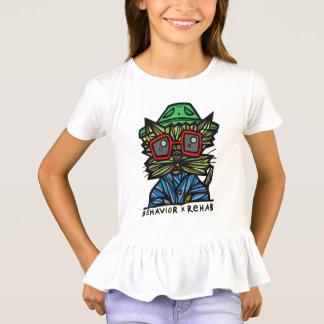 """Camiseta Do """"t-shirt do plissado das meninas da"""