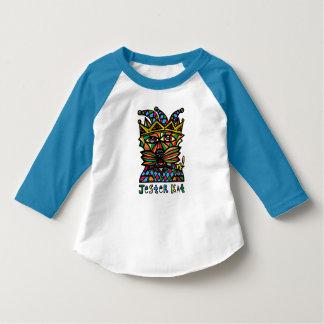 """Camiseta Do """"t-shirt do Raglan da criança do Kat bobo da"""