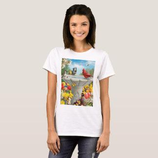 """Camiseta Do """"t-shirt e mais dos amigos jardim"""" de Alan"""