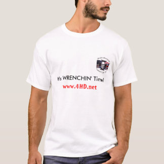 Camiseta do tempo de Wrenchin
