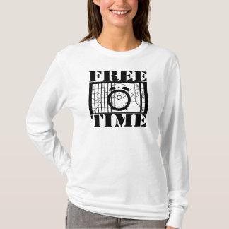 Camiseta do tempo livre