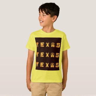 Camiseta do Texas do miúdo