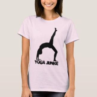 Camiseta do toxicómano da ioga