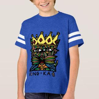 """Camiseta Do """"Tshirt do esporte dos meninos rei Kat"""""""