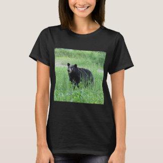 Camiseta do urso preto