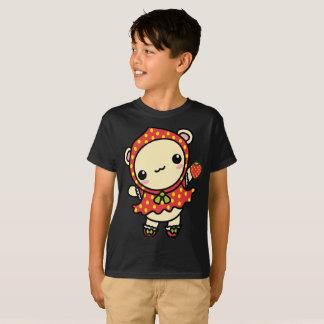 Camiseta Do urso vermelho de Wub da morango t-shirt bonito