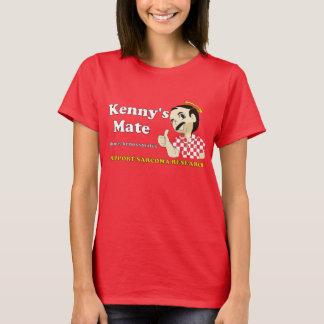 Camiseta do vermelho do companheiro de Kenny
