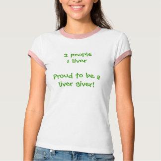 Camiseta Doador do fígado