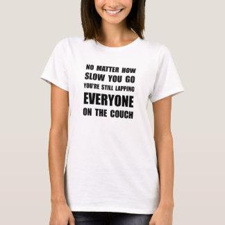 Camiseta Dobrando o sofá