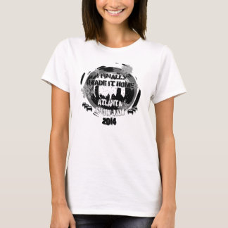 """Camiseta Doce Atlanta 2014 da neve """"eu fiz-lhe finalmente a"""