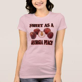 Camiseta Doce como um pêssego de Geórgia (mulheres)