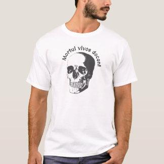 Camiseta Docent dos vivos de Mortui - o morto ensina a vida