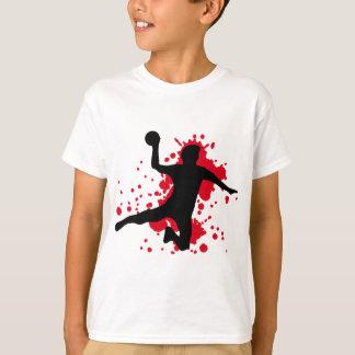 Camiseta dodgeball sangrento do handball