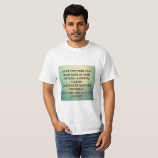 Camiseta Doença bipolar