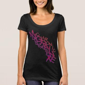 Camiseta Doença crônica da enxaqueca - precipitação da