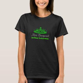 Camiseta Doença de Lyme da senhorita Diagnóstico