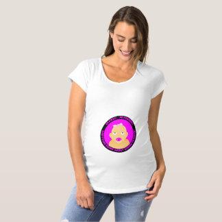 Camiseta doente, bonito, engraçado, gravidez do bebé