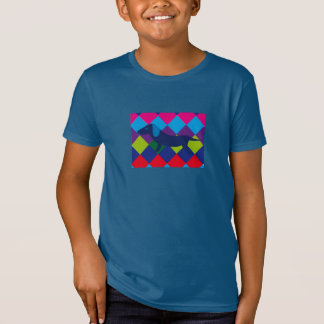 Camiseta Dog Mosaic Shirt