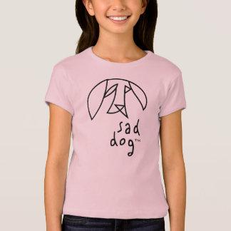 Camiseta Dog™ triste - a boneca das meninas