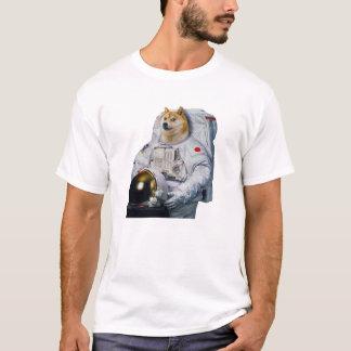 Camiseta Doge super do astronauta de Shibe