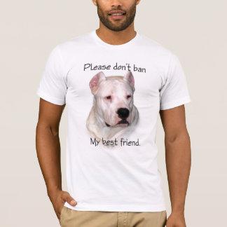 Camiseta Dogo Argentino Anti-BSL