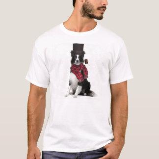 Camiseta Dogs~Original Ditzy Tee~Border Collie~Winter