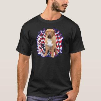 Camiseta Dogue de Bordéus Patriota