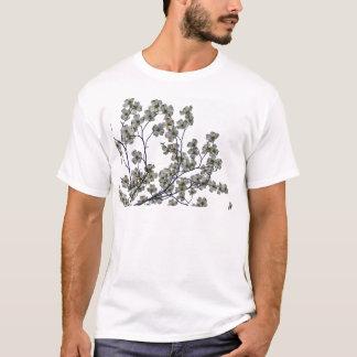 Camiseta Dogwood de florescência branco