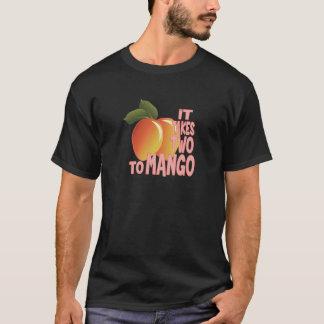 Camiseta Dois à manga