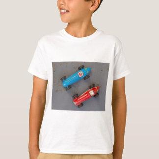 Camiseta Dois carros vintage do brinquedo